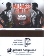 Planet Holywood Palhares Vx Shields---2338----Hotelkarte, Hotel Room Keycard, Room Keys, Clef De Hotel-- - Cartas De Hotels