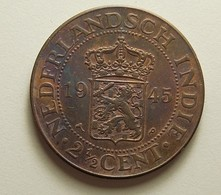 Netherlands East Indies 2 1/2 Cent 1945 P - Niederländisch-Indien