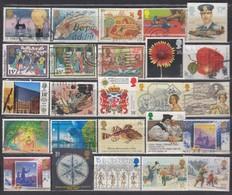 GB 1986 - 1990 - Lot 25 Verschiedene   Used - 1952-.... (Elisabeth II.)