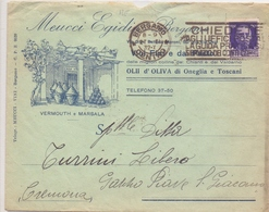 1932 Lettera Pubblicitaria Da Bergamo Per Pieve S.Giacomo  024 - 1900-44 Vittorio Emanuele III