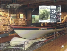Portugal Azores Açores 2011 Azores Whaling Heritage - Souvenir Sheet MNH - Factories & Industries