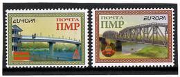 Moldova / PMR Transnistria 2018 EUROPA (Bridges,Flag,Arms). 2v: A,B - Moldavia