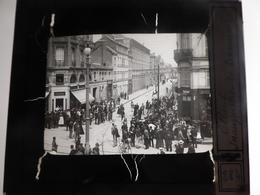I61 - Plaque Photo - Positif - Elbeuf - 76 - Inauguration Du Tramway - N° 10 - Diapositiva Su Vetro