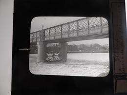 I61 - Plaque Photo - Positif - Elbeuf - 76 - Pont Sur La Seine 1898 - N° 16 - Glasdias
