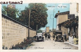 THIL VUE DU TABAC ANIME AUTOMOBILES VOITURES ANIMEE 01 AIN - France