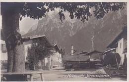 AK Mittenwald - Strassenpartie (39811) - Mittenwald