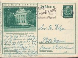 DR P 221/059, Gestempelt, Nordhausen, Stadttheater - Deutschland