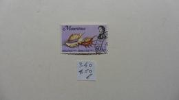 Afrique > Maurice  Timbre  N° 340 Oblitéré - Maurice (1968-...)