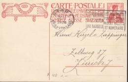 SCHWEIZ  MiNr. P  68 A, Mit Stempel: Bern 21.V.1926 - Ganzsachen