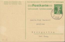 SCHWEIZ  MiNr. P  40 F Mit Stempel: Bremgarten 30.I.1933 - Postwaardestukken