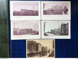 Leuven-Louvain/Wijgmaal/-5 Vintage Pk Van Nieuwe REMY Fabriek-lot De 5 Cpa De La Nouvelle Usine Remy - Leuven