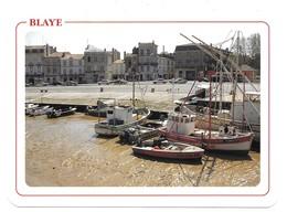 Blaye Le Port à Marée Basse - Blaye