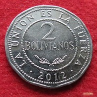 Bolivia 2 Bolivianos 2012 *V1   Bolivie - Bolivia