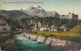 Sils Maria (Grigioni) Mit Piz Della Margna, Scorcio Panoramico, Coin - GR Grisons