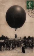 """1909 ROUEN Fêtes Normandes Départ Du """"Léopard De Normandie"""" - Montgolfières"""
