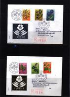 Jugoslawien / Yugoslavia 1973 Medicinal Plants FDC With Zagreb Postmark - Heilpflanzen