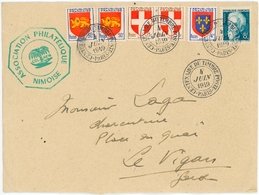 FRANCE Centenaire Du Timbre Poste Paris 1949 CITEX Ass. Phil. NIMES - 1940-49