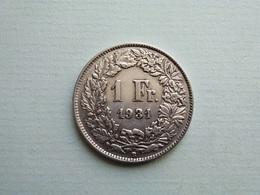 SUISSE    1   Franc  1931   Schweiz - Zwitserland