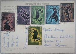 REPUBBLICA DI SAN MARINO - La Fortezza - Serie Zodiaco - Zodiac - Nice Stamps  Vg - San Marino