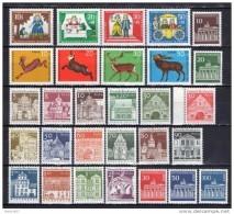 Allemagne 1966  BERLIN NEUF ** ANNEE COMPLETE Cote :  24€ - [5] Berlin