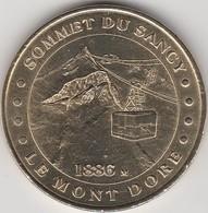 """Rare Médaille Monnaie De Paris Commémorative Officiel """" Sommet Du Sancy"""" Le Mont Dore Année 1999 Rare ! Jeton Patrimoine - Monnaie De Paris"""