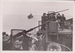 GEGEN DEN TOMMY KRIEGSMARINE  FOTO DE PRESSE WW2 WWII WORLD WAR 2 WELTKRIEG Aleman Deutchland - Boats