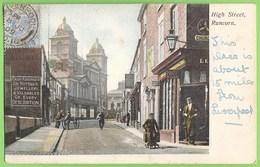 Runcorn - High Street - Philately - Commercial - Advertising - England - England
