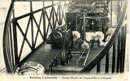 Aviation à Lunéville. Groupe Moteur De L'Appareil Bot Et Lallemand - Luneville