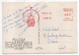 EMA --1966--Souvenir Du Sommet De La Tour Eiffel --PARIS VII--n° Machine N° K-0234 --  * 25 Sur Cpsm Tour Eiffel-Paris - EMA (Printer Machine)
