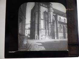 I62 - Plaque Photo - Positif - Neufchâtel En Bray - Seine-Maritime - L'église - N° 26 - Glasdias
