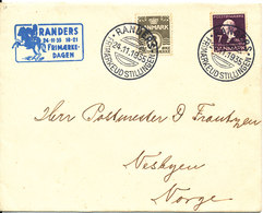 Denmark Cover Randers Philatelistclub Stamp Exhibition 24-11-1935 STAMPDAY Nice Special Postmark - 1913-47 (Christian X)