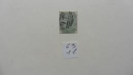 Afrique > Maurice :timbre N° 69 Oblitéré - Maurice (1968-...)