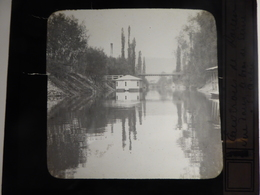 I62 - Plaque Photo - Positif - Environs De Rouen - 76 - Le Bord De Seine à Saint-Aubin - N° 32 - Diapositiva Su Vetro