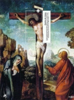 Portugal 2012 Art Depicting Biblical Scenes Souvenir Sheet MNH - Christianity