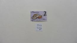 Afrique > Maurice :timbre N° 340 Oblitéré - Maurice (1968-...)