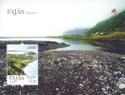 Portugal Azores Açores 2012 Aerial Views Of Towns Souvenir Sheet MNH - Holidays & Tourism