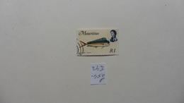 Afrique > Maurice :timbre N° 343 Oblitéré - Maurice (1968-...)