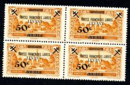 Lot Z964 Levant France Libre N°41** Bloc De 4 - Levant (1885-1946)