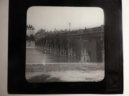 I62 - Plaque Photo - Positif - Lyon - Ancien Pont Morand - N° 35 - Glass Slides