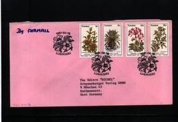 Transkei 1981 Medicinal Plants FDC Airmail Letter - Heilpflanzen