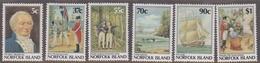 Norfolk Island ASC 427-432 Bicentennial VI Foundation First Settlement, Mint Never Hinged - Norfolk Island