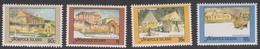 Norfolk Island ASC 444-447 1988 Restored Convict Buildings, Mint Never Hinged - Norfolk Island