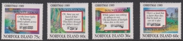 Norfolk Island ASC 462-465 1989 Christmas, Mint Never Hinged - Norfolk Island