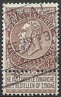 8S-388:N°61: FUMAL: Spoorweg: Staatslijn: Type C_k - 1893-1900 Thin Beard