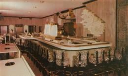 Peoria Illinois, Kett Watsom's 120 Club Interior View Night Club, Bar C1960s Vintage Postcard - Peoria