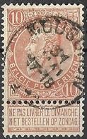 8S-385:N°57: E11: MOUSCRON - 1893-1900 Barbas Cortas