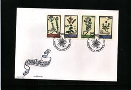 Liechtenstein 1993 Medicinal Plants FDC - Heilpflanzen