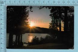 Quebec - Lac St-Joseph En Banlieu De Quebec Servie En 1984 +  Timbre CND -post Card Carte Postale - Quebec