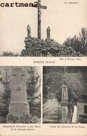 GORZE LE CALVAIRE MONUMENT DE LA GRANDE GUERRE J. MOBRE METZ 57 MOSELLE - Zonder Classificatie