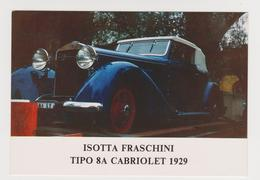 1398/ ISOTTA FRASCHINI Cabriolet (1929). - Non écrite. Unused. No Escrita. Non Scritta. Ungelaufen. - Turismo
